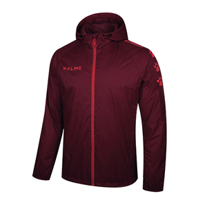 Windproof Rain Jacket Adult / Wine Red