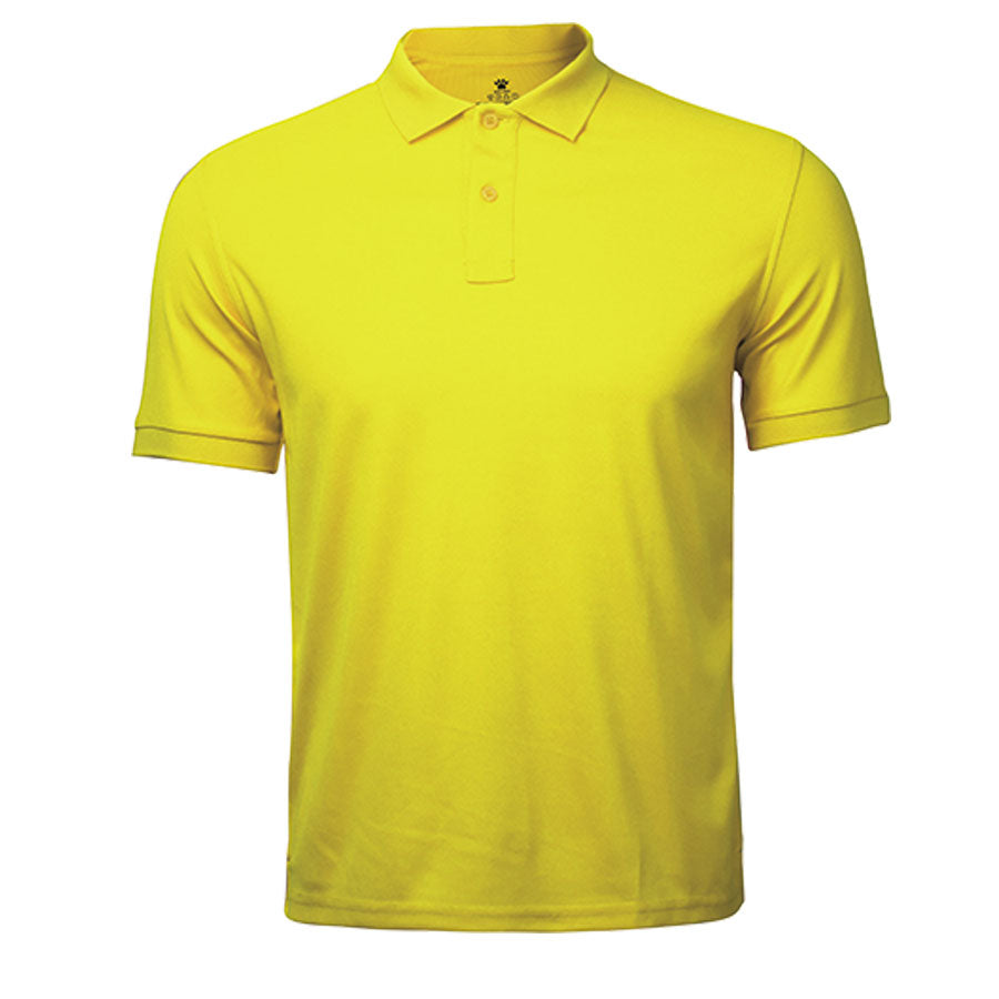 Kids Polo T-Shirt Yellow