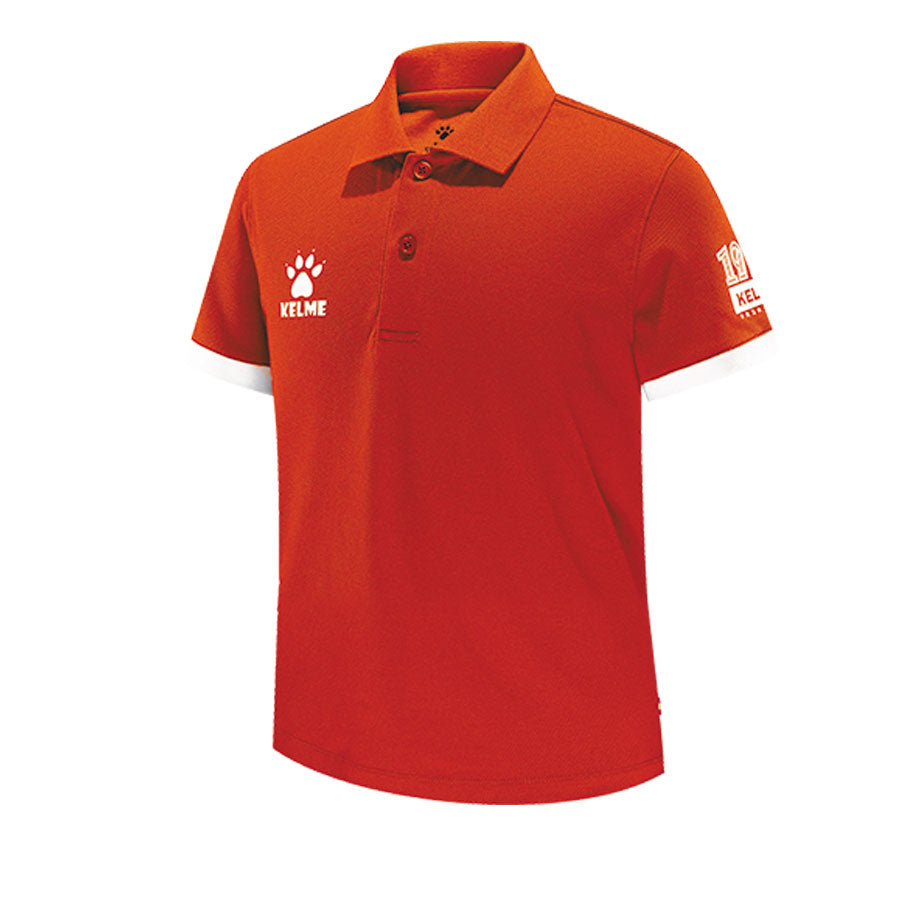 Kids Polo Bright Orange