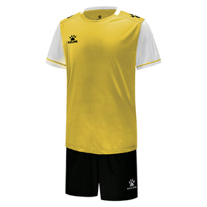 Kids Football Set Yellow/White