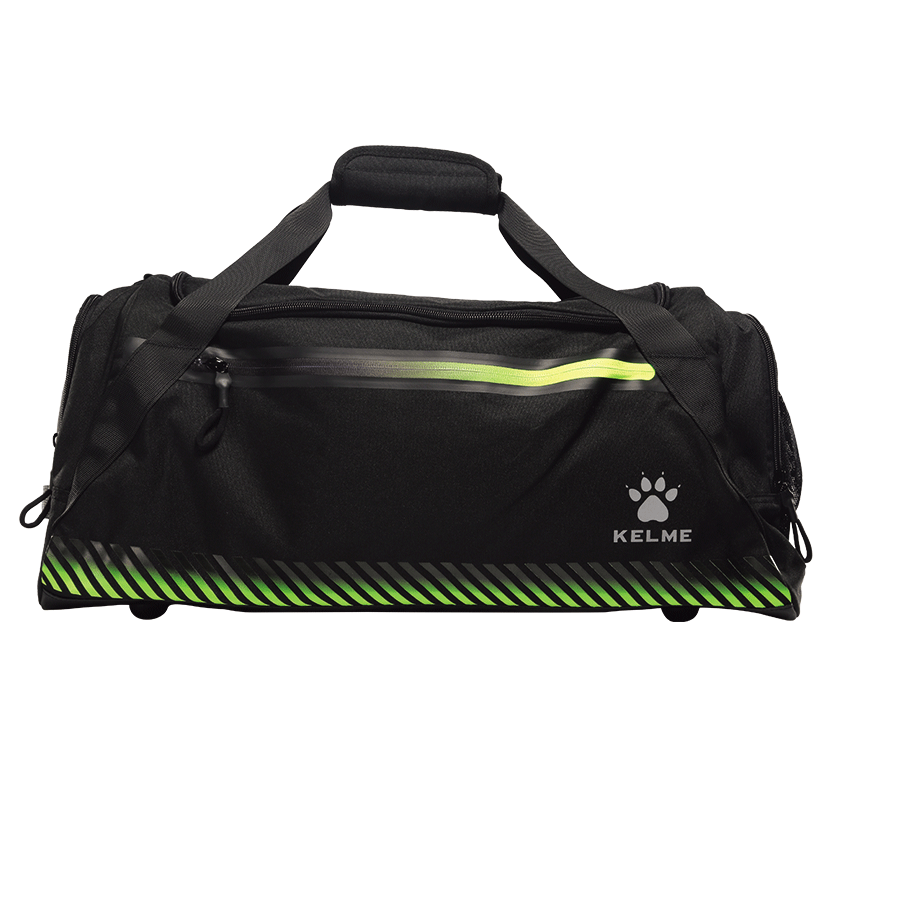Black Neon Green Bag