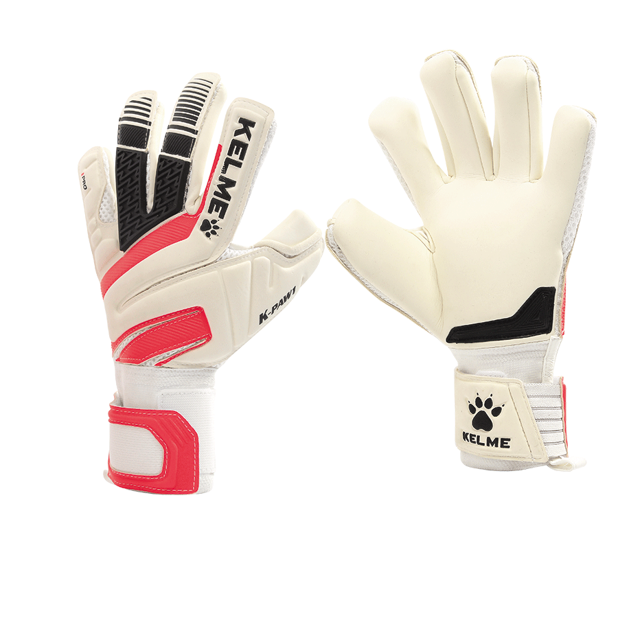 Goalkeeper Gloves Professional G9876400-107 White Red