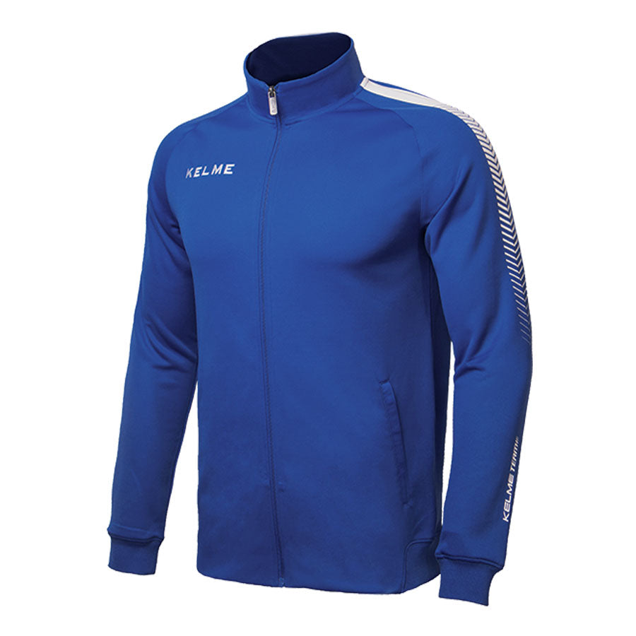 Adult Training Jacket Blue/White