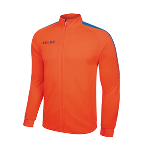 Training Jacket Adult Neon Orange / Neon Blue