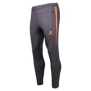 Training Pants Adult Dark Metal Gray / Neon Orange