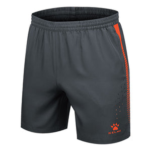 Woven Shorts Gray / Neon Orange