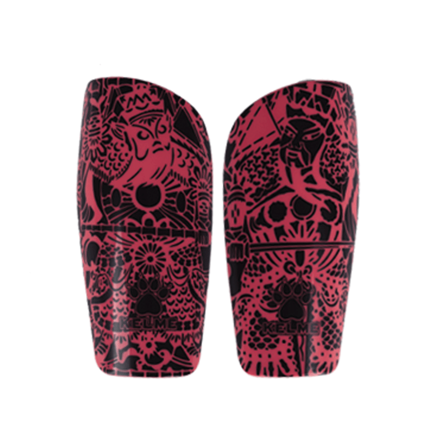 Shin Guards Totem Red