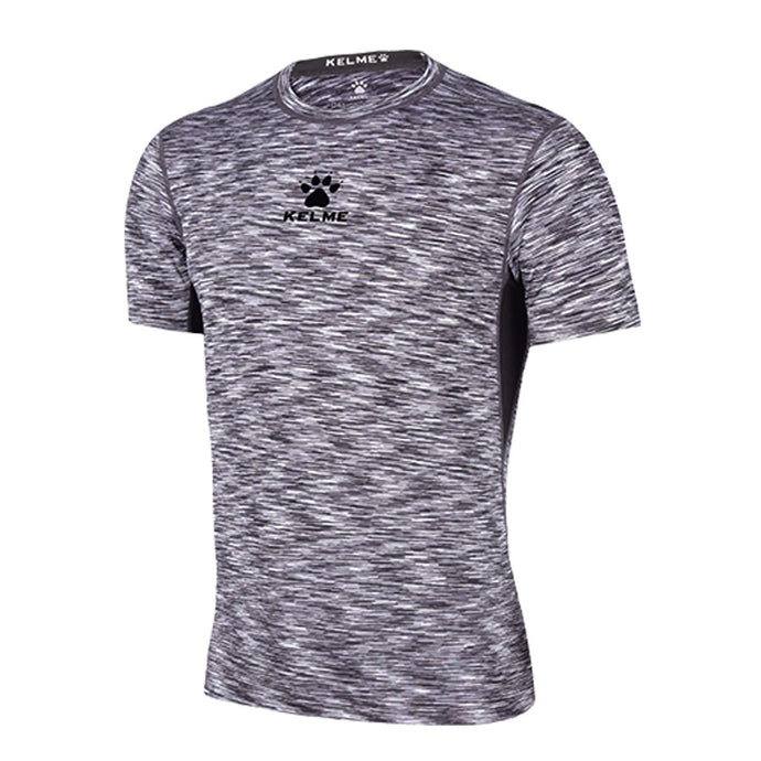 Tech Tight Training T-Shirt / Space Dye Gray