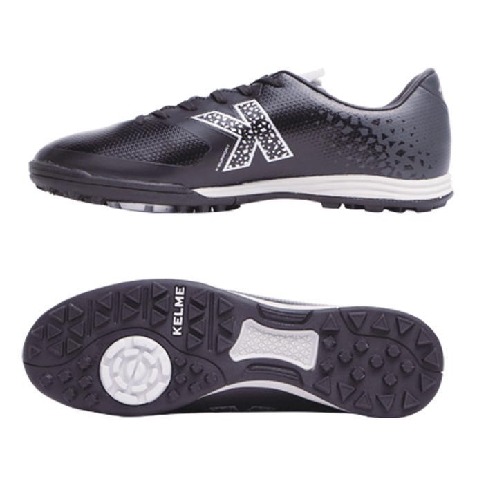 Indoor soccer Shoes K98 Black / Silver 055