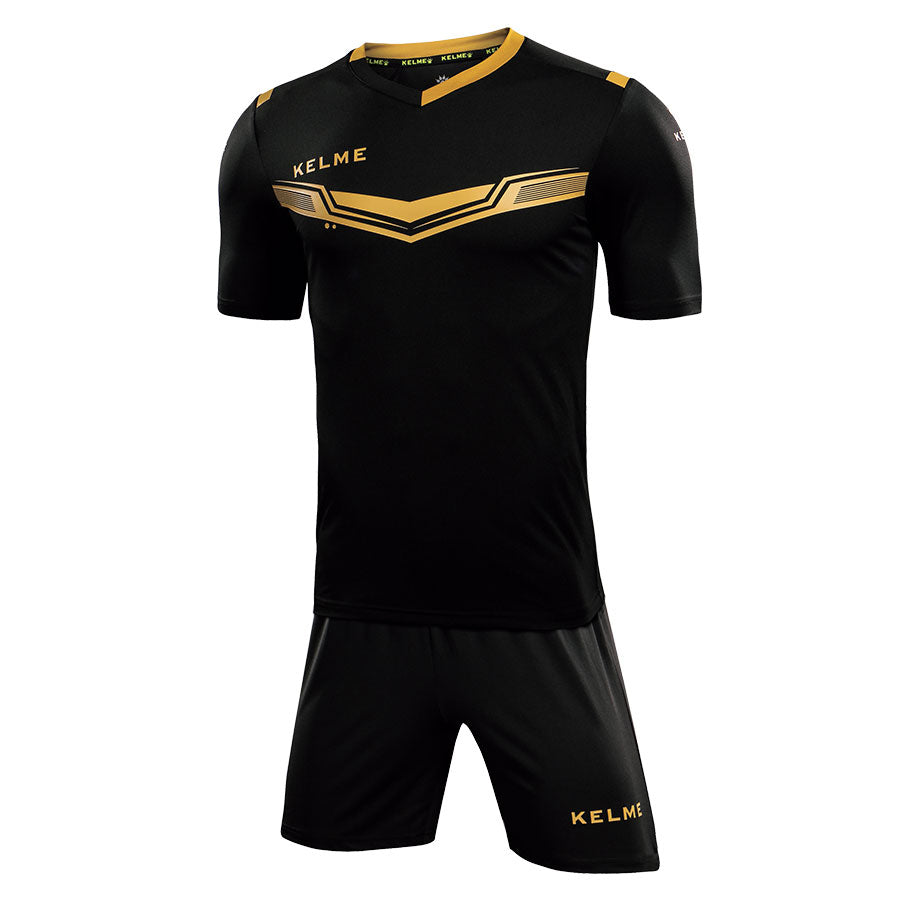 Kids Football Set Black/Gold