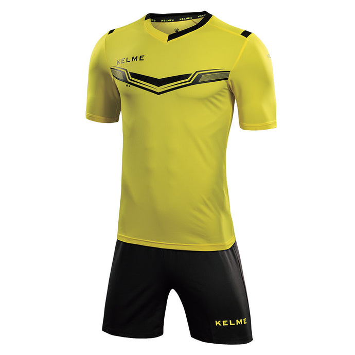 Kids Football Set Kids Yellow Black