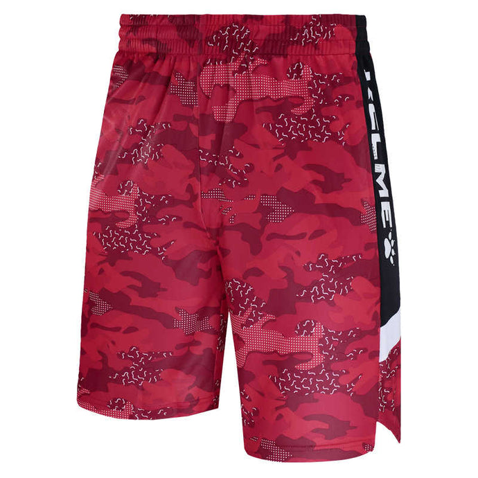Men's Basketball Shorts Camouflage Red