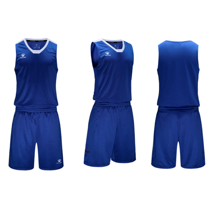 Men's Basketball Set Royal Blue