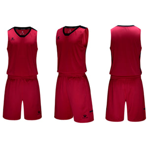 Men's Basketball Set Red