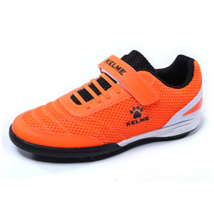 Indoor Soccer Shoes Neon Orange