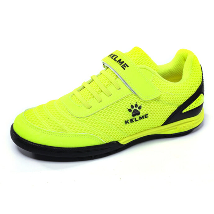 Indoor Soccer Shoes Neon Green