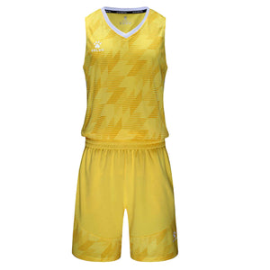 Men's Basketball Set Yellow