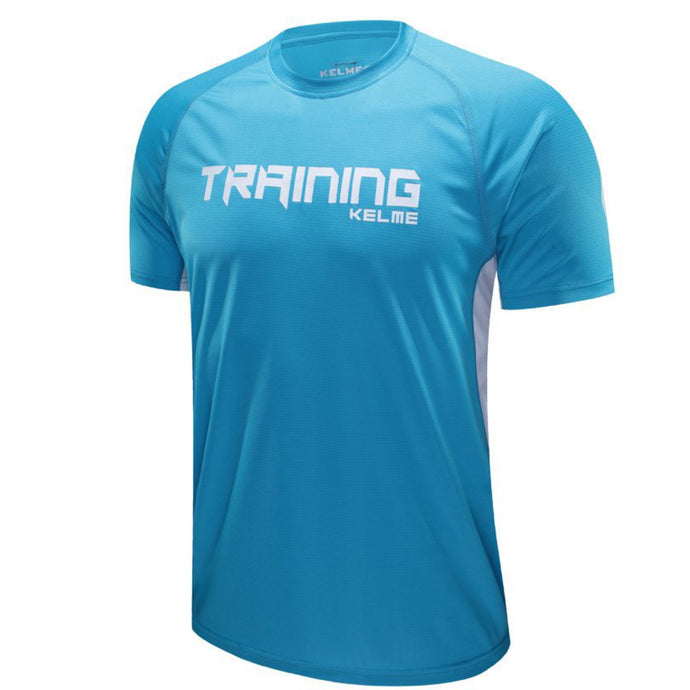 Men's Light Blue Training T-Shirt
