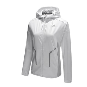 Women's White Training Jacket
