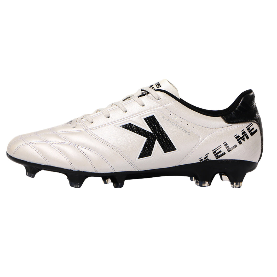 Pearl White Kangaroo Cleats Outdoor Shoes