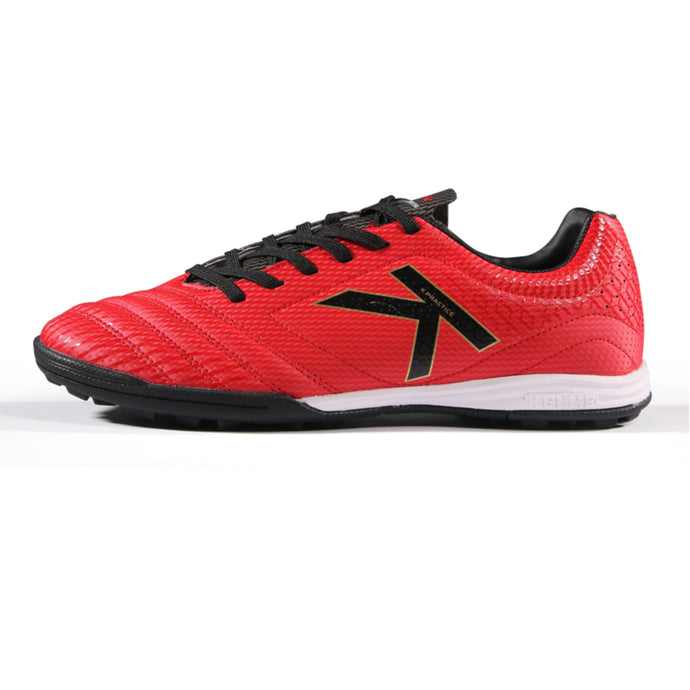Indoor soccer Shoes Red Black