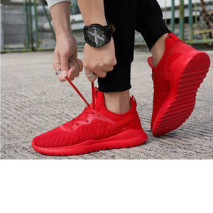 Running Shoes Red