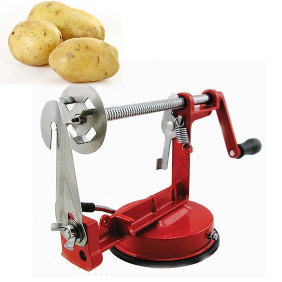Manual Stainless Steel Twisted Potato Slicer