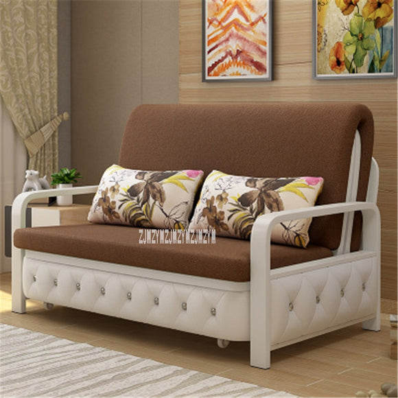 RR-1001# Fabric Sofa Casual Modern Furniture Supplies Foldable Detachable Washable Can Be Assembled High Density Sponge Filling
