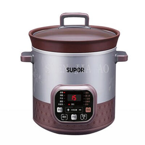5L Smart Electric Slow Cooker rice cooker electric cooker stew soup  porridge health mini Timer Control baby food steamer 1pc
