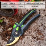 Garden steel pruning shears home fruit tree potted greening durable labor-saving tools orchard home gardening pruning