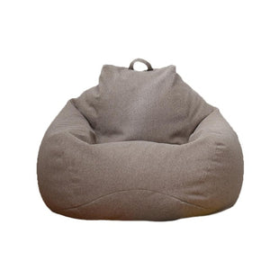 Lazy Sofa Cover Bean Bag Lounger Chair Sofa Seat Living Room Furniture Without Filler Beanbag Sofa Bed Pouf Puff Couch Tatami