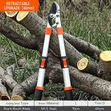 Garden Tree Pruning Shears High Branch Pruning Tool  Long Reach Aluminium Handle Fruit Knife Picker Pruner