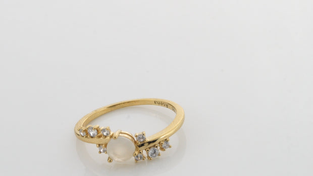 Love Stoned Ring Gold