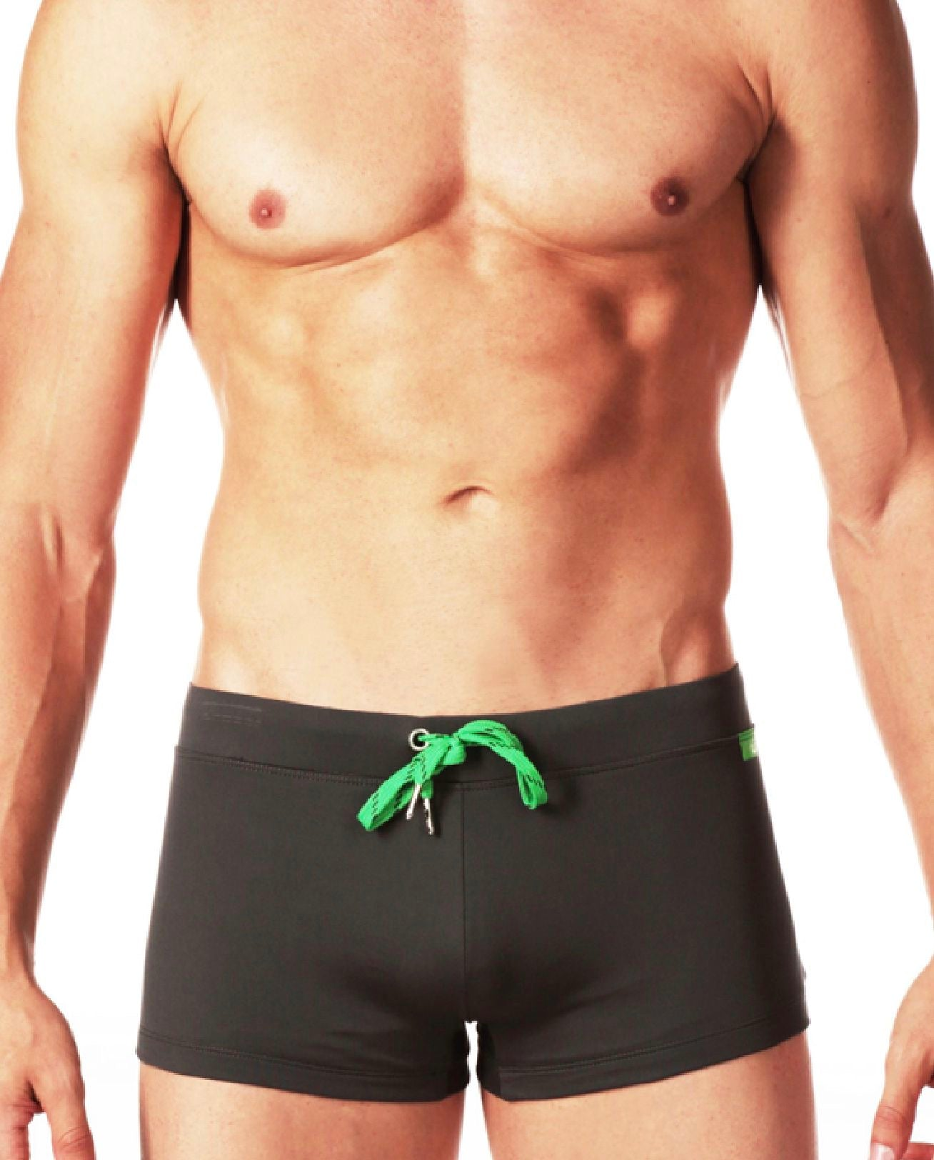 Zallaq Swim Trunk - Smoke