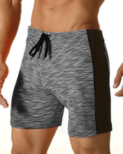 Digital Thigh Length Swim - Carbon
