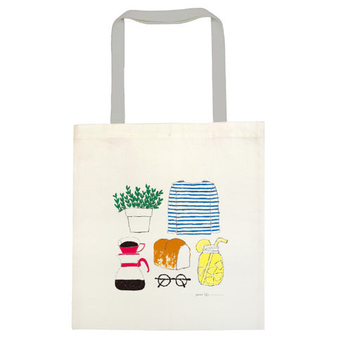 Greeting Life Cotton linen Tote Bag Yusuke Yonezu Tools YZZ-116