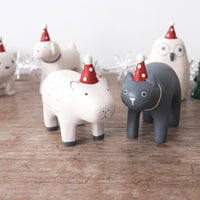 T-lab polepole animal Christmas Cat