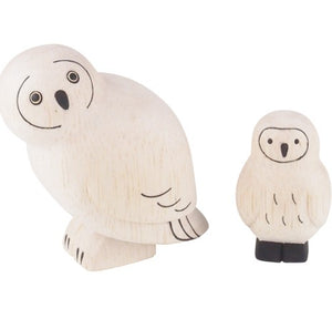 T-lab polepole animal Family Set Owl