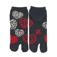 Tabi Socks XL size Short type Asarum Caulescens kyoohoo