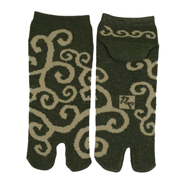 Tabi Socks XL size Short type Arabesque kyoohoo