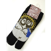 Tabi Socks XL size Short type Racoon Dog kyoohoo