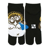 Tabi Socks Short type Racoon Dog/XL