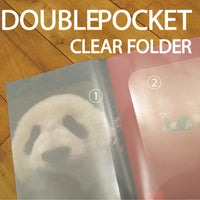 Greeting Life Double Poket Clear Folder A6 FA6W-67-PA