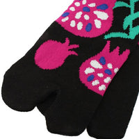 Tabi Socks Short type Pomegranate/M