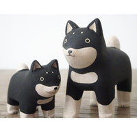 T-lab polepole animal Family Set Shiba Dog