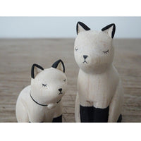 T-lab polepole animal Family Set Siamese Cat