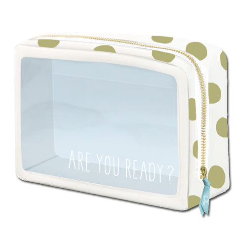 Greeting Life Window Pouch M Chic ATZ-96