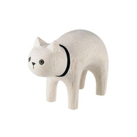T-lab polepole animal White Cat