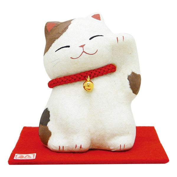 Primming Lucky Cat Calico Fortune Cat Japanwave