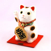 Solar Powered Lucky Cat K12-3211